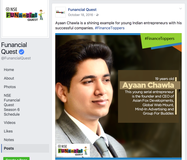 Ayaan Chawla-Funancial-Quest-National-Stock-Exchange-3